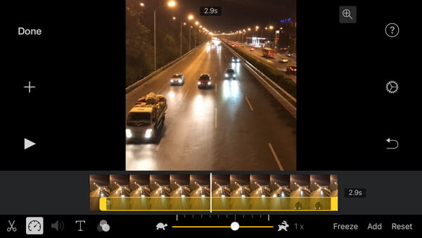 Crea iPad iMovie Time Lapse per iPhone