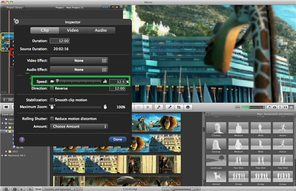 Time Lapse iMovie 09