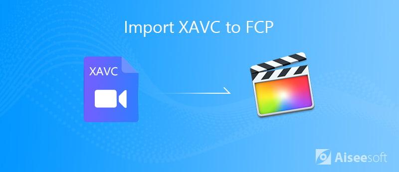 Εισαγωγή XAVC Στην FCP