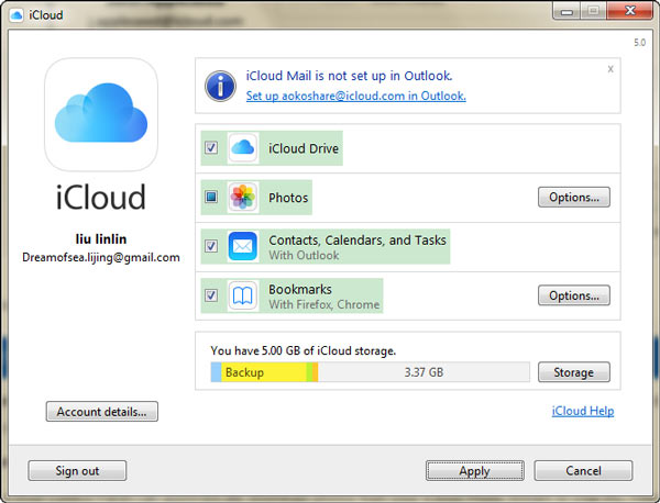 How to Access iCloud on PC – Install iCloud Control Panel
