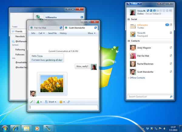 Top 10 Best Instant Messenger Program for Windows/Mac