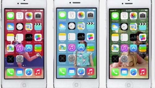 Αρχική οθόνη iOS7