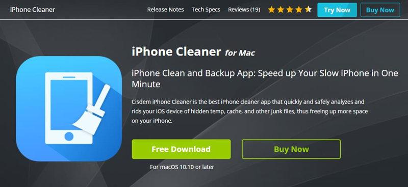 Cisdem iPhone Cleaner