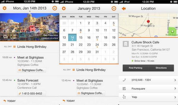 Calendario del tempo
