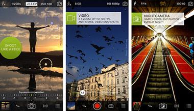 Εφαρμογή ProCamera