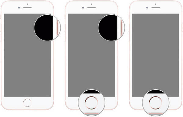 iPhone DFU Mode Screens