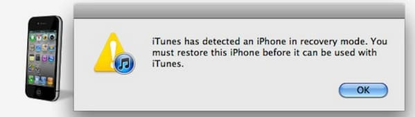 iTunes Detect iPhone DFU Mode