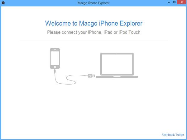 Macgo iPhone Explorer