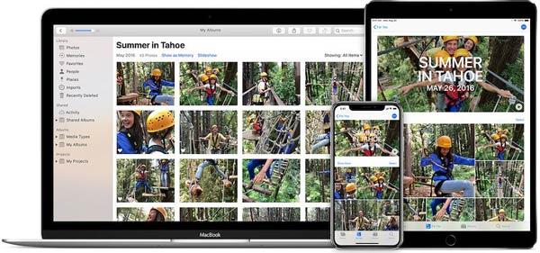 iCloud Φωτογραφίες