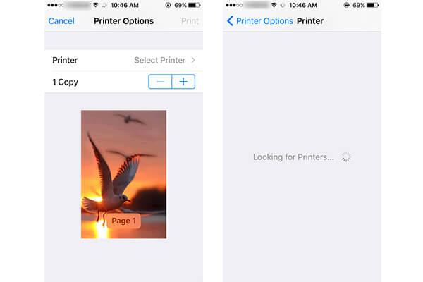 Drukuj zdjęcia z iPhone'a za pomocą drukarki iPhone