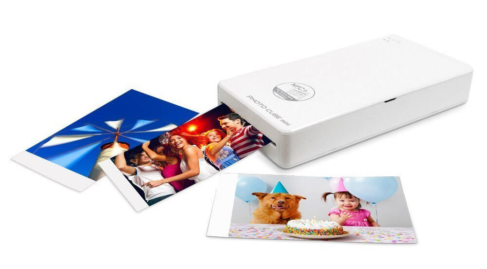 VuPoint Photo Cube