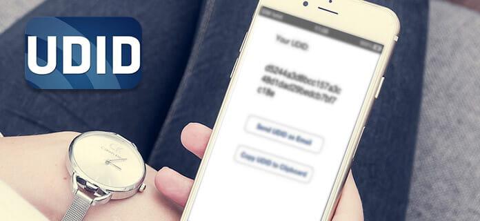 Οδηγός για το iPhone UDID