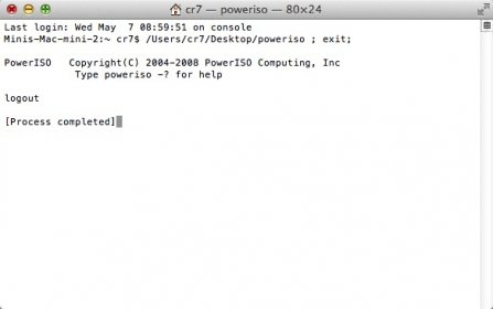 PowerISO per Mac