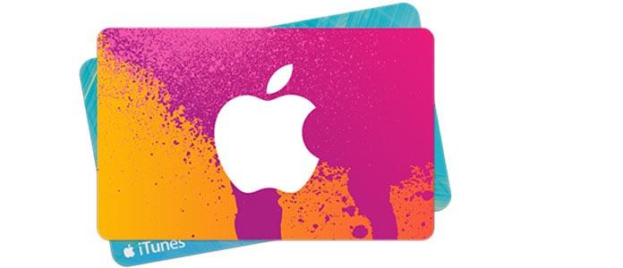 Carta regalo iTunes