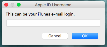 Enter Apple ID Password