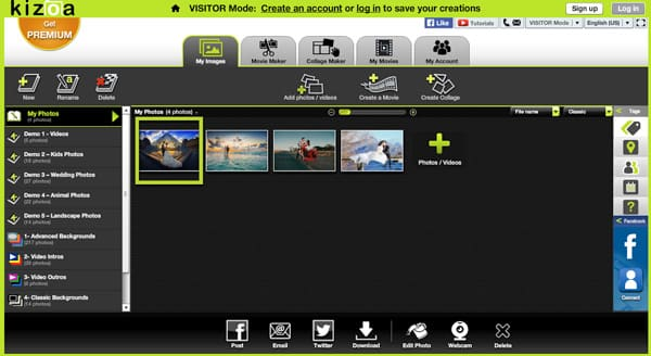 Kizoa Online Video Maker