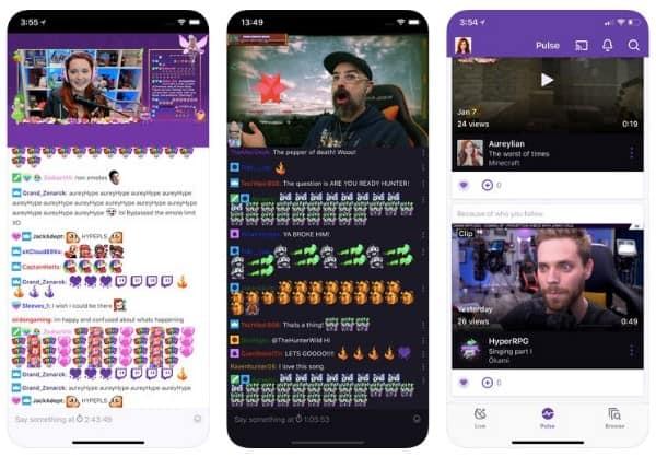 Εφαρμογή Twitch