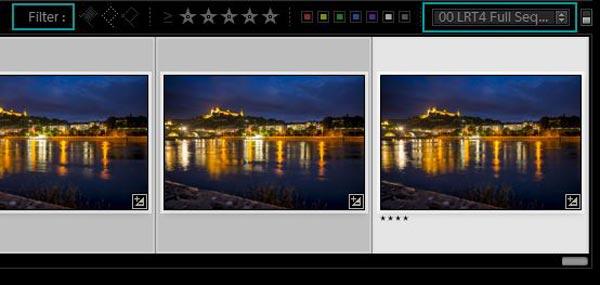 Modifica i fotogrammi chiave in Lightroom