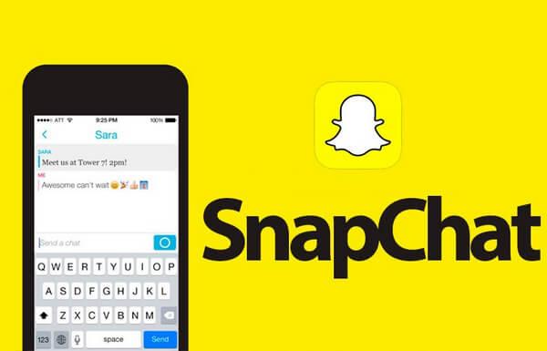 Snapchat消息應用程序