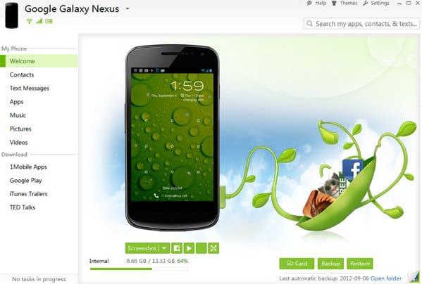 Εναλλακτική λύση SnapPea για MobileGo για Android