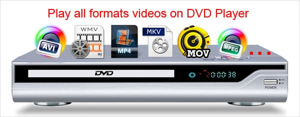 which video format is supported in all dvd players