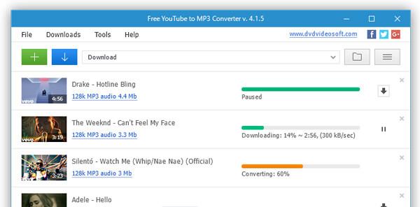 Free YouTube MP3 Converter