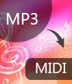 Converti MP3 in MIDI