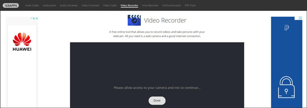 123apps MP4 Screen Recorder