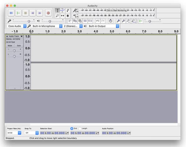 Music Editing Software for Mac - Audacity