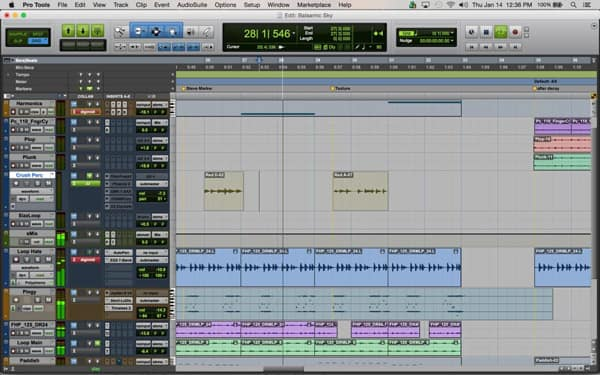 Music Editing Software for Mac - Avid Pro Tools