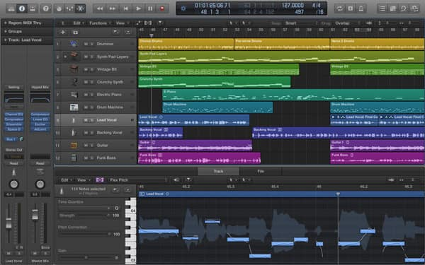 Music Editing Software for Mac - Logic Pro X