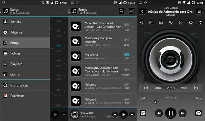 Lettore musicale jetAudio HD