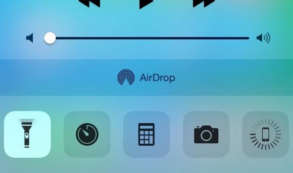Ενεργοποιήστε το φακό στο iPhone