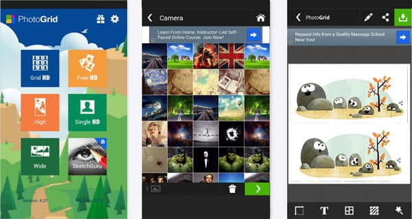 How To Combine Pictures/Photos On Android And IPhone