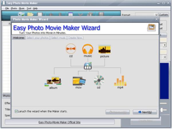 Εύκολη Δημιουργία φωτογραφιών ταινιών