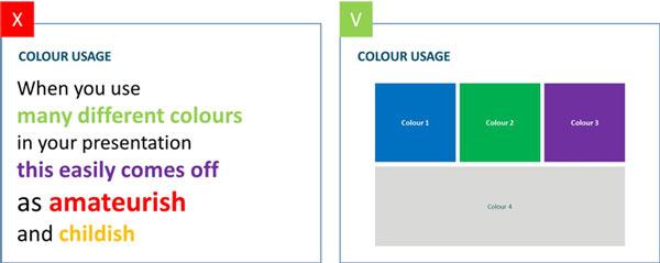 Χρήση χρώματος