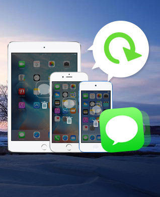 Recover deleted iMessages from iPhone/iPad/iPod
