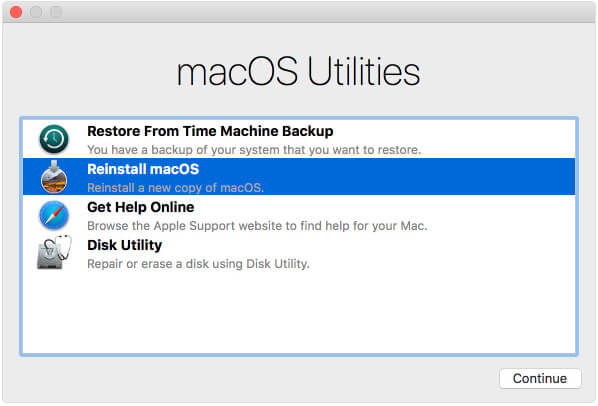 Recovery Partition on Mac