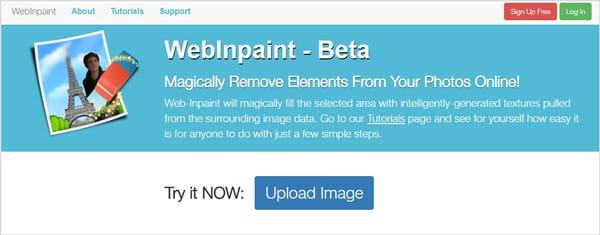 Ανοίξτε το WebInpaint