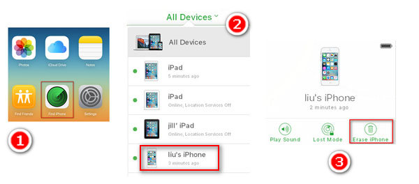 3 Ways to Unlock iPhone 5 Passcode without iTunes- dr.fone