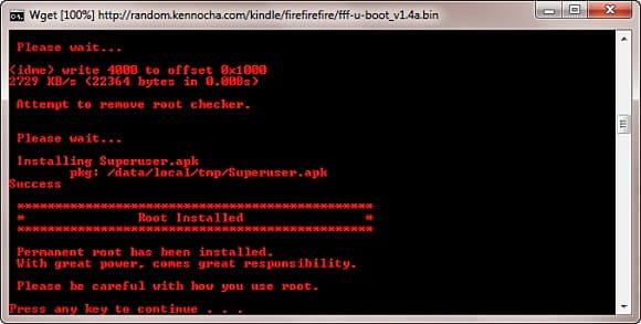 Root con Kindle Fire Utility