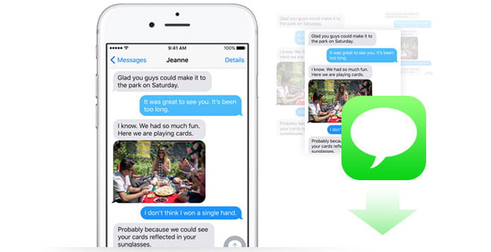 how to move text message from iphone to computer