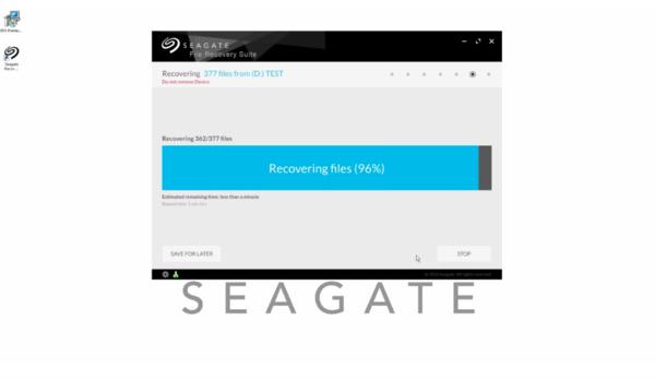 Ripristina i dati di Seagate
