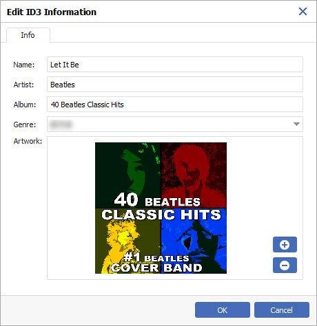 Edytuj informacje ID3 przez Windows Senuti