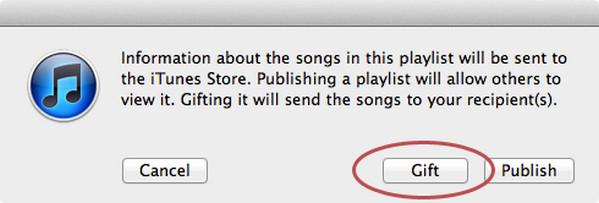 iTunes dárek