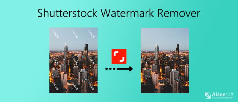 Odstraňovač vodoznaku Shutterstock