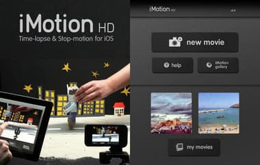 iMotion HD Registra video al rallentatore