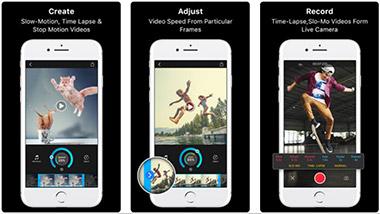 Πρόγραμμα επεξεργασίας βίντεο Slow Motion Fx