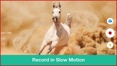 Videocamera Slow Motion Slwo Motion