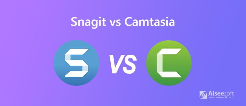 Snagit εναντίον Camtasia